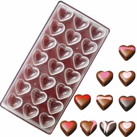 2020 Funny Custom Square Polycarbonate Plastic Candy Chocolate Gold Bar Mould Molds