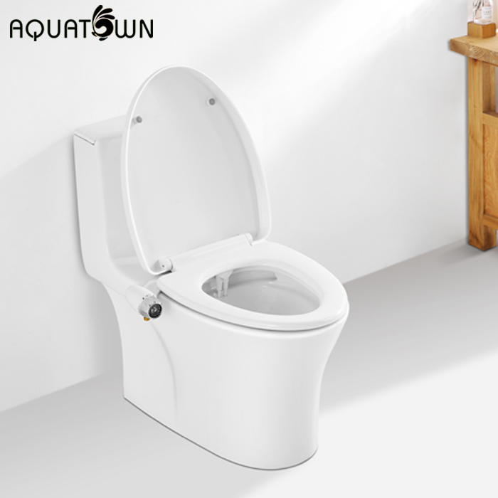 Aquatown Brand New Dual Nozzles Bidet Attachment For Toilet Seat Buy Manual Bidet Bidet Attachment Product On Alibaba Com