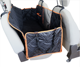 Customize Soft Quilted Waterproof Foldable Hammock Pet Dog Car Seat Cover