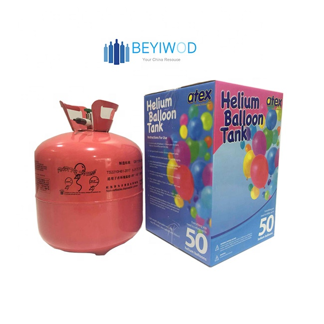 13.4l,22.4l helium canister helium cylinder tank balloons 30Ib 50Ib helium gas for balloon