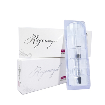 reyoungel cosmetic hyaluronic acid of syringe 2.5ml for recovering skin radiance and hydration