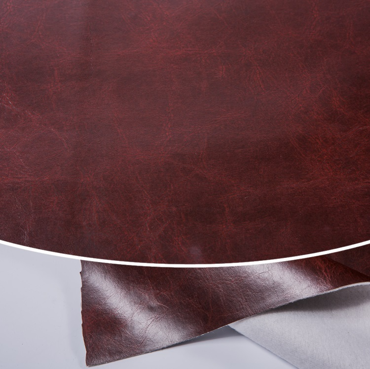 free sample stock lot embossing fabric  textured faux leather