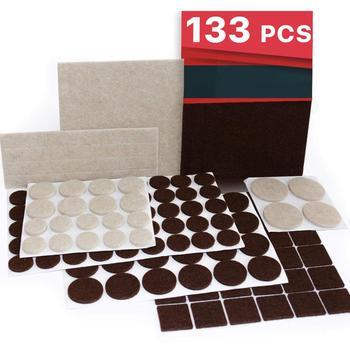 5mm Thick Self Adhesive Furniture Pads Felt Furniture Pads Premium