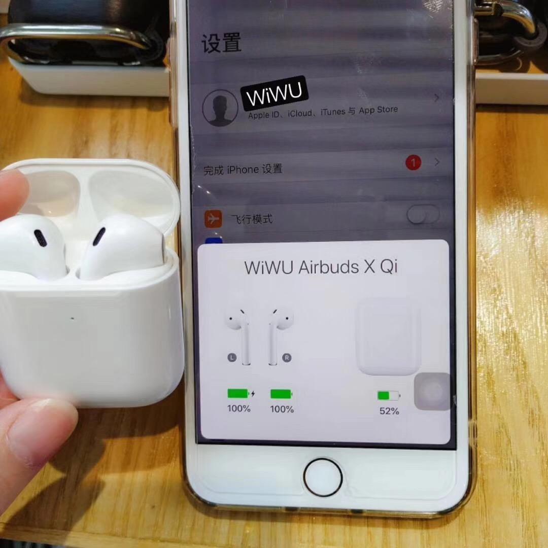 WiWU 2019 nuevo Original i10000 TWS inalámbrica estéreo 5,0 diente azul auriculares i300 i500 TWS Mini estéreo auriculares inalámbricos