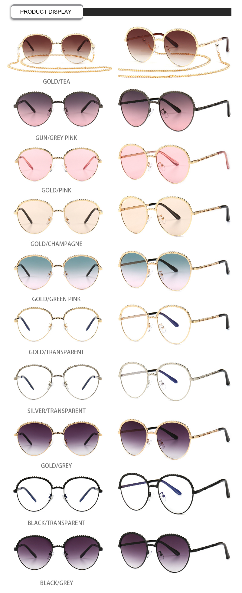 Fuqian wholesale fashion sunglasses ask online for lady-16