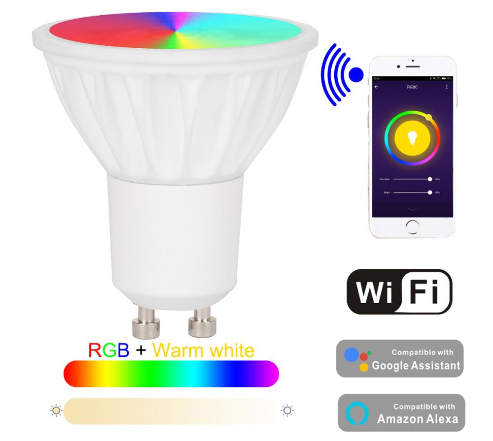 Baolight 5 W LED Smart GU10 WIFI