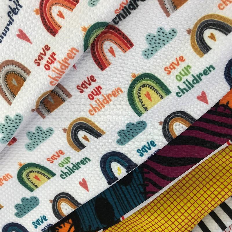 No MOQ Custom Liverpool Bullet Digital Printed Fabric With Good Price