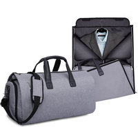 custom waterproof foldable gym duffel bag women mens business travel garment suit cover bag