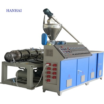 Plastic PVC Drainage Water Supply Pipe Extrusion Line Electrical Wiring Tube Gas Hose Making Machine