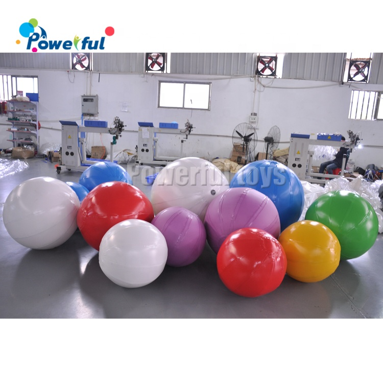 Air sealed inflatable ball colorful balls  for kids play