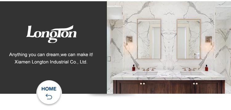 磨いイランベージュトラバーチン床大理石タイル浴室用