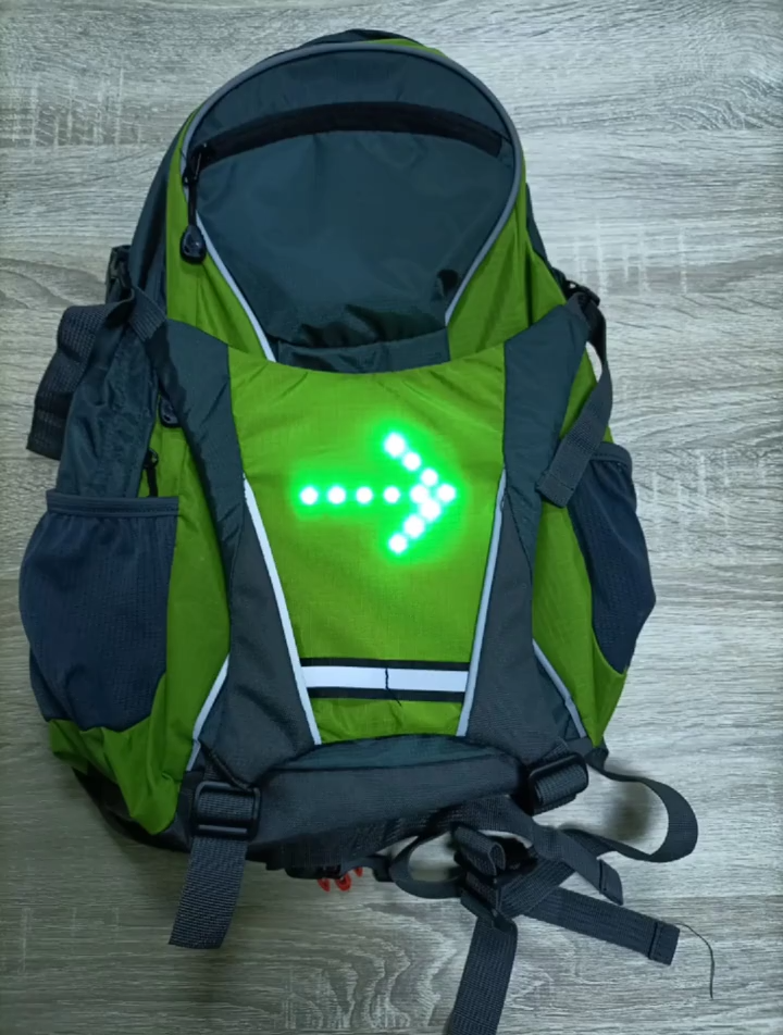 Toptan çok fonksiyonlu LED açık seyahat yürüyüş sırt çantaları spor bisiklet sırt çantası