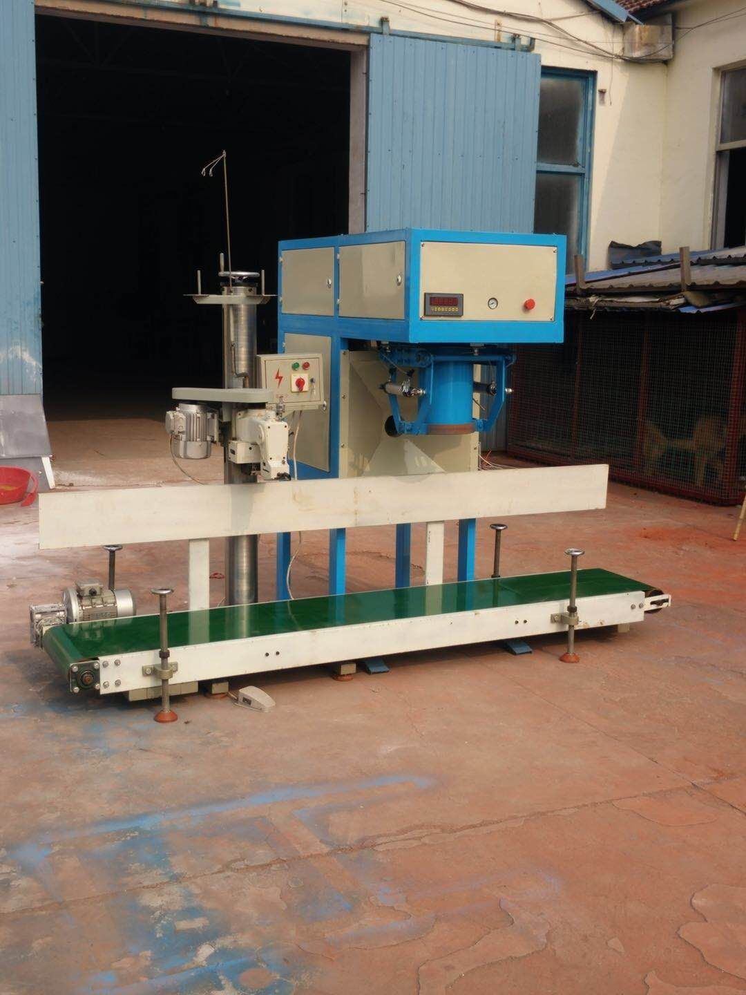 Simple plastering mortar production line wall plaster mortar mixer packing machine