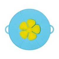 Silicone Cooking Tools Boil Over lid spill stopper Silicone Pot Cover Lid Multi-Function Anti Spill Lid
