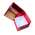 Foldable paper square Cube Box Sticky Memo block Notes pad with Pen Holder Sticky