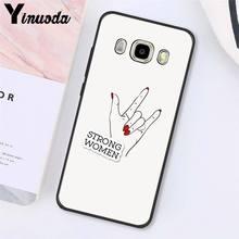 Yinuoda эстетика Минимальная девушка мощность феминистский чехол для телефона задняя крышка для samsung Galaxy J7 J6 J8 J4 J4Plus J7 DUO J7NEO J2 J5 Prime(Китай)