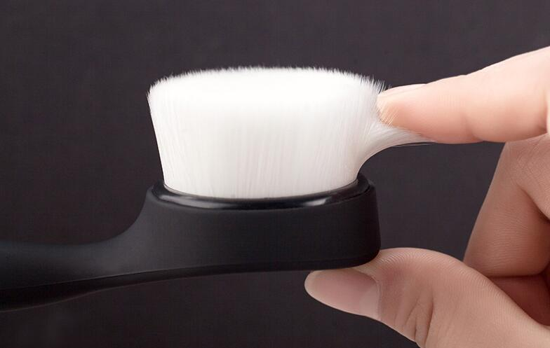 Superfine Fibre Soft Facial Brush Deep Pore Cleansing Brush Nylon Face Washing Brush with Long Handle