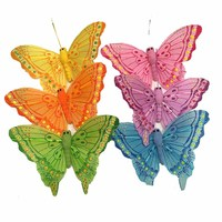 Decorative Colorful Wedding Butterfly Decorative Feather Butterfly Butterfly Decoration