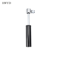 Aluminum alloy bike accessories portable mini bike pump bicycle accessories pump with gauge