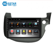 Bosstar android car dvd player gps sistema multimediale stereo per HONDA FIT 2009-2013