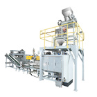 Weighing And Machinery Sand Bagging Machine Vertical Weighing And Packing Machinery For Carton / Sand Filling Weighing Bagging Machine