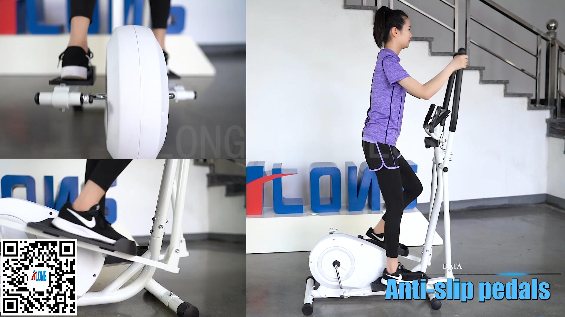 Fabbrica di buona qualità di vendita calda magnetica ellittica trainer esercizio coperta home gym fitness MET1502