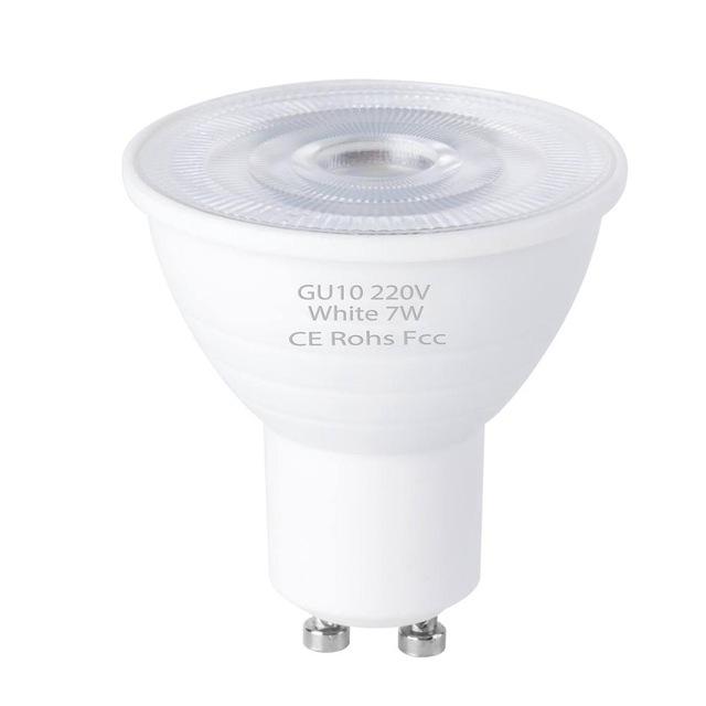 GU10 Spot Light 220V 5W 7W Bombillas LED Spotlight Bulb GU5.3 Ampoule 2835 SMD Lighting Home