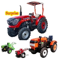 Chinese new tractor farm machinery mini farming walking tractor