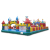 Big Outdoor Inflatable Clown Jumping Castle Playground Commercial Lovely Kids Adult Bouncy Castles Amusement Park Bouncer