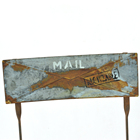 Metal Table Decor Metalmetal Hengfa Metal Art Garden Home Table Decor Rusty Collapsible Desk