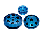 CNC milling parts high quality lightweight 6061 billet aluminum pulley for engine