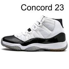 Оригинальные 11 11s баскетбольные кроссовки Bred Concord 45 Инфракрасный 23 белый цемент Джорджтаун Мужские кроссовки Размер 13 женские спортивные кр...(Китай)