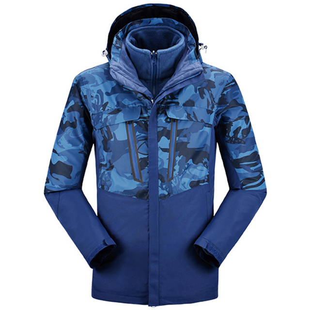 Mens Outerwear Waterproof Breathable Sports Jacket Winter Outdoor Jacket  For Hiking Climbing Clothing
