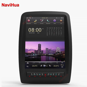 NaviHua PX6 Tesla Screen Android 8.1 4G Car GPS Navigation for Dodge Durango  Car DVD Player Android Car Stereo Radio