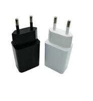 Wholesale Cheap Portable EU Single Port Travel Wall Charger Flat Wall USB Charger 1A Fast Charger