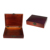 High-end custom classic wooden leather tea box storage gift box