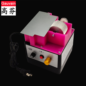 Single Side Leather Edge Oil Inking Dyeing Box Machine  with iron lid for Belt Bags Making