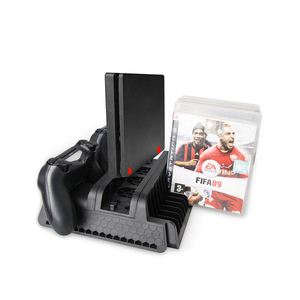 DOBE TP4-882 Multi-Functional PS4 Charging Stand Cooling Fan Stand & Disc Stand for PS4 / slim / PRO