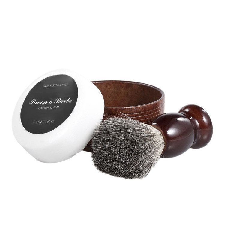 badger hair brush mens grooming shaving kit Men/Dad/Husband Beard Care Gift Sets