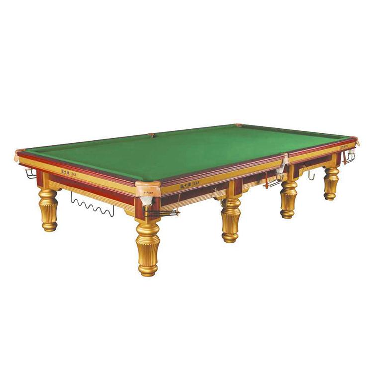 12 футов Международный твердый деревянный складной стол для снукера