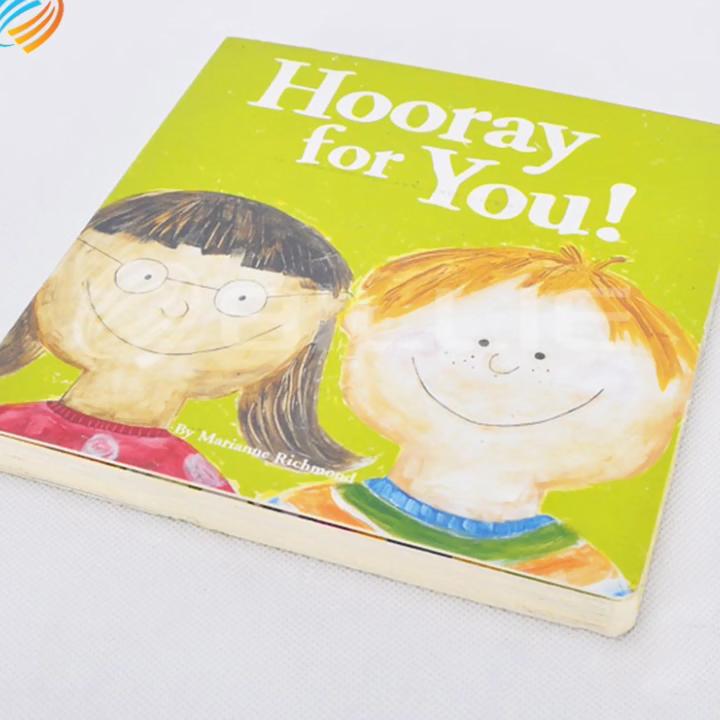 Превосходное качество свинец переработанный пользовательские дешевые A3 Die Cut детей брошюра детские мини доска книга печать Услуги Малайзия
