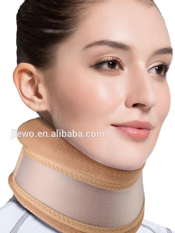 Éponge réglable accolade de Cou cervicale de collier/médical de soutien du cou