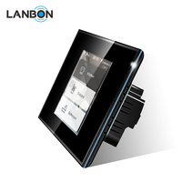Lanbon WIFI Light Switch L8 LCD touch Screen Smart Switch with power consumption functions