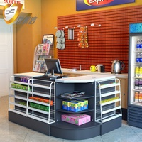 Retail Convenience Store Popular Supermarket Grocery Checkout Counter Cashier Desk