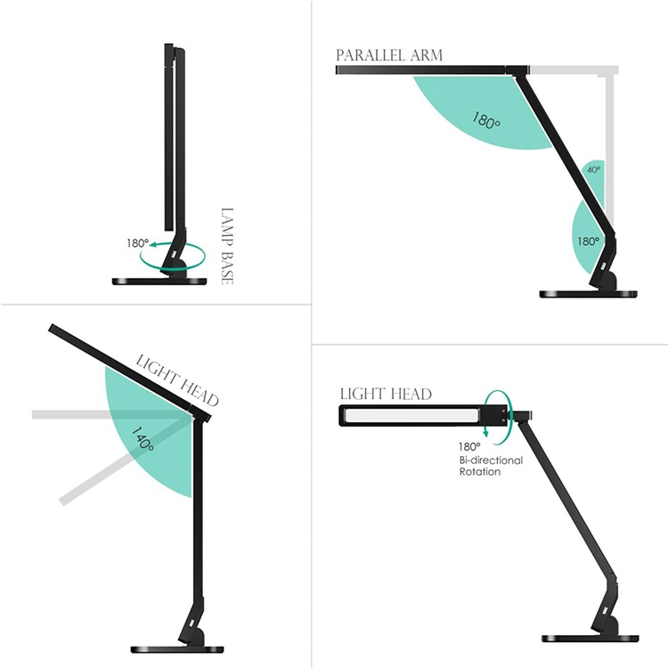 Delixi portable luminaire Led desk lamp lamps