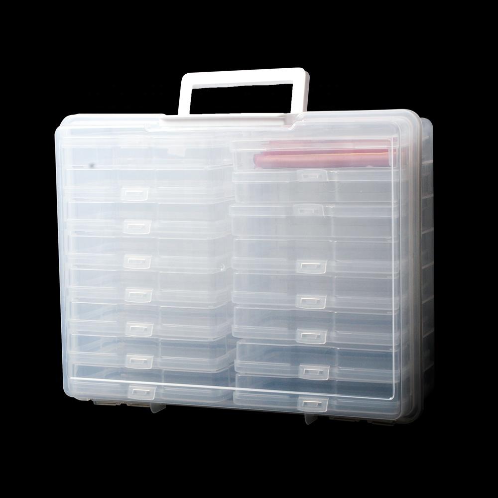 29514 photo organizer storage box and craft keeper
