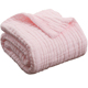 Newest Cheapest Price Soft Organic Cotton Fabric muslin baby blankets swaddle wraps Solid Color private label Muslin Blankets