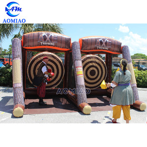 Funny Inflatable Axe Throwing Sport Game for Rental