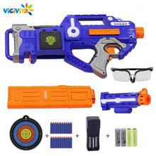 Электронный пистолет-пистолет, игрушечный костюм для NERF, мягкая пуля, пистолет, Rival Elite Series, уличная забавная и спортивная игрушка, подарок дл...(Китай)