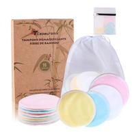 Eco-friendly Washable Makeup Remover Cotton Pads